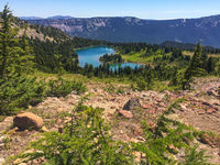 Shoe Lake, Pacific Crest Trail South, Goat Rocks Wilderness