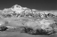 Mt. Denali, aerial view, Denali NP, Alaska