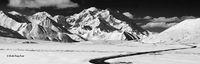 Muldrow Glacier, Mt. Denali, Park Road, Denali NP, Alaska
