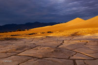 Death Valley, Mesquite Dunes, sunset
