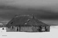 Derelict Building, Lewiston Hwy, OR