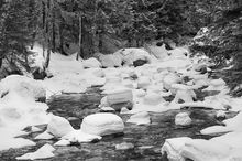 South Fork Snoqualmie River, Snow, Hummocks