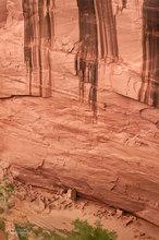 Canyon de Chelly,Antelope House,morning,desert varnish