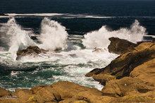 Oregon,coast,surf,clouds,Boiler Bay