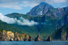Bear Glacier Point,Aialik Peninsula,Kenai,Fjords NP,Kenai Peninsula,Alaska