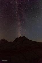 White Pocket,Paria Plateau,Milky Way