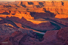 Canyonlands,Dead Horse overlook,sunrise,goosenecks,Colorado river