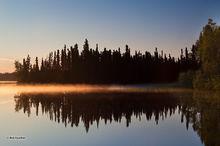 Sunrise,Dolly Varden Lake,Swanson River Road,Kenai National Wildlife Refuge,Kenai Peninsula,Alaska