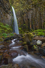 Oregon,Columbia Gorge,waterfall,Dry Creek Falls