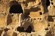 Bandelier NP,New Mexico,viga,wall