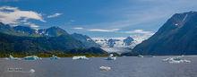 Grewingk Glacier,Lake,Kenai Peninsula,Alaska