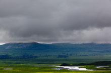 Denali Highway,mile 41,Maclaren River Valley,glacier