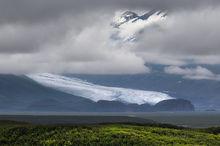 Denali Highway, mile 41, Maclaren River Valley, glacier