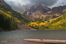 Colorado,Maroon Bells,aspens