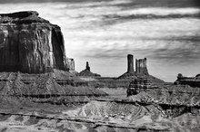 Monument Valley,Merrick Butte,Big Indian,Castle Butte