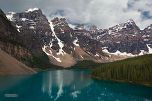 Moraine Lake, Banff NP, Alberta