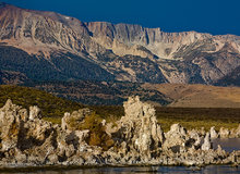 Mono Lake,sunrise,tufa,Sierra Nevada