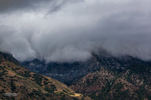 Mount Nebo Wilderness,low ceiling,clouds