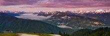Hurricane Ridge,Olympic Mountain Range,morning