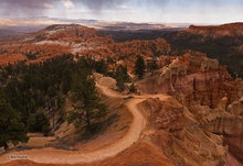 Bryce Canyon,Utah,Sunset Point,sunset,Bryce Amphitheater,Queen's Garden Trail
