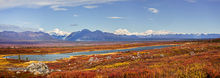 Alaska Range and Monahan Flat