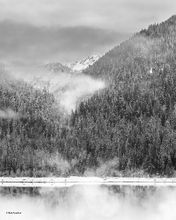 Baker Lake, Anderson Butte