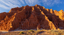 Cathedral Gorge, bentonite, erosion patterns