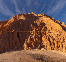 Cathedral Gorge, erosion patterns, badlands