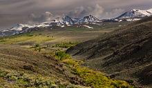 Bridgeport, Green Creek, Eagle Peak, Twin Peaks, Whorl Mountain, Dunderburg Meadows