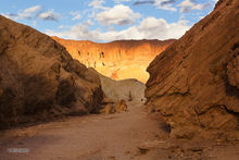 Death Valley, Golden Canyon, Red Cathedral