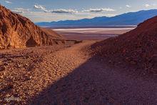 Death Valley, Badwater Basin, Natural Bridge Canyon
