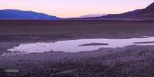 Death Valley, Badwater Basin, twilight