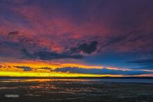Goose Lake Sunset