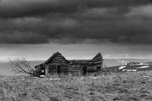 Derelict Building, Anatone, WA
