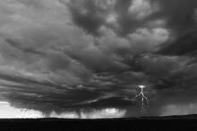 Electrical Storm, Buffalo Creek Road, Thermopolis, Wyoming