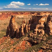 Monument Canyon Colorado NM, Book Cliffs