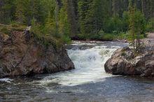Rancheria Falls,Yukon,Canada