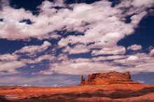 Round Rock,clouds,red