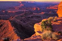 Canyonlands,Dead Horse Point SP,sunrise,Shafer Basin