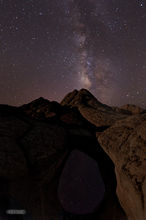 White Pocket,Paria Plateau,Milky Way