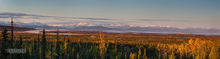 St. Elias Range,sunrise,Alaskan Hiway,Alaska
