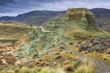 John Day Fossil Beds NM,Sheep Rock unit,Foree area