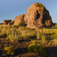 City of Rocks SP,sunrise,boulders,desert