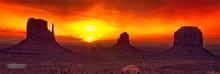 Mitten Buttes,Merrick Butte,sunrise
