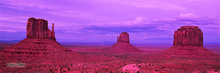 Monument Valley,Mitten Buttes,evening
