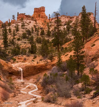 Tropic Ditch,Utah,waterfall