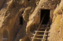 Bandelier NM,New Mexico,ladder
