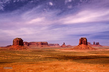 Monument Valley,Merrick Butte,Big Indian,East Mitten,Castle Rock,Stagecoach,clouds