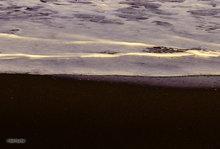Waimea Beach,black sand,Kauai