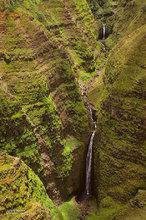 Waipo'o Falls Tiers,Waimea Canyon,Kauai,Kokee Stream